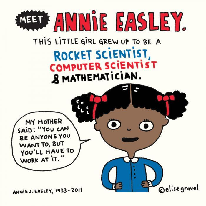 Women in STEM mini-posters | Elise Gravel