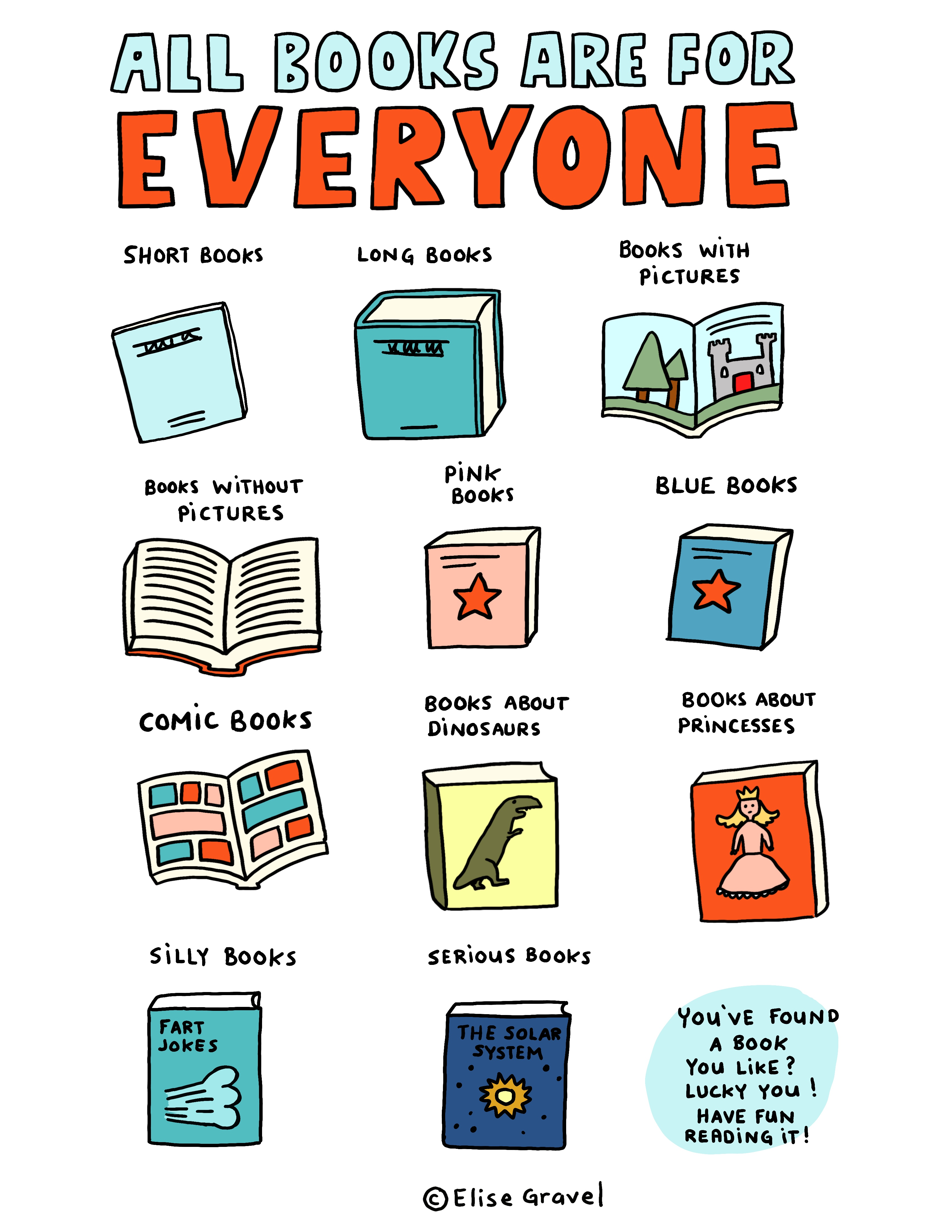 All books are for everyone