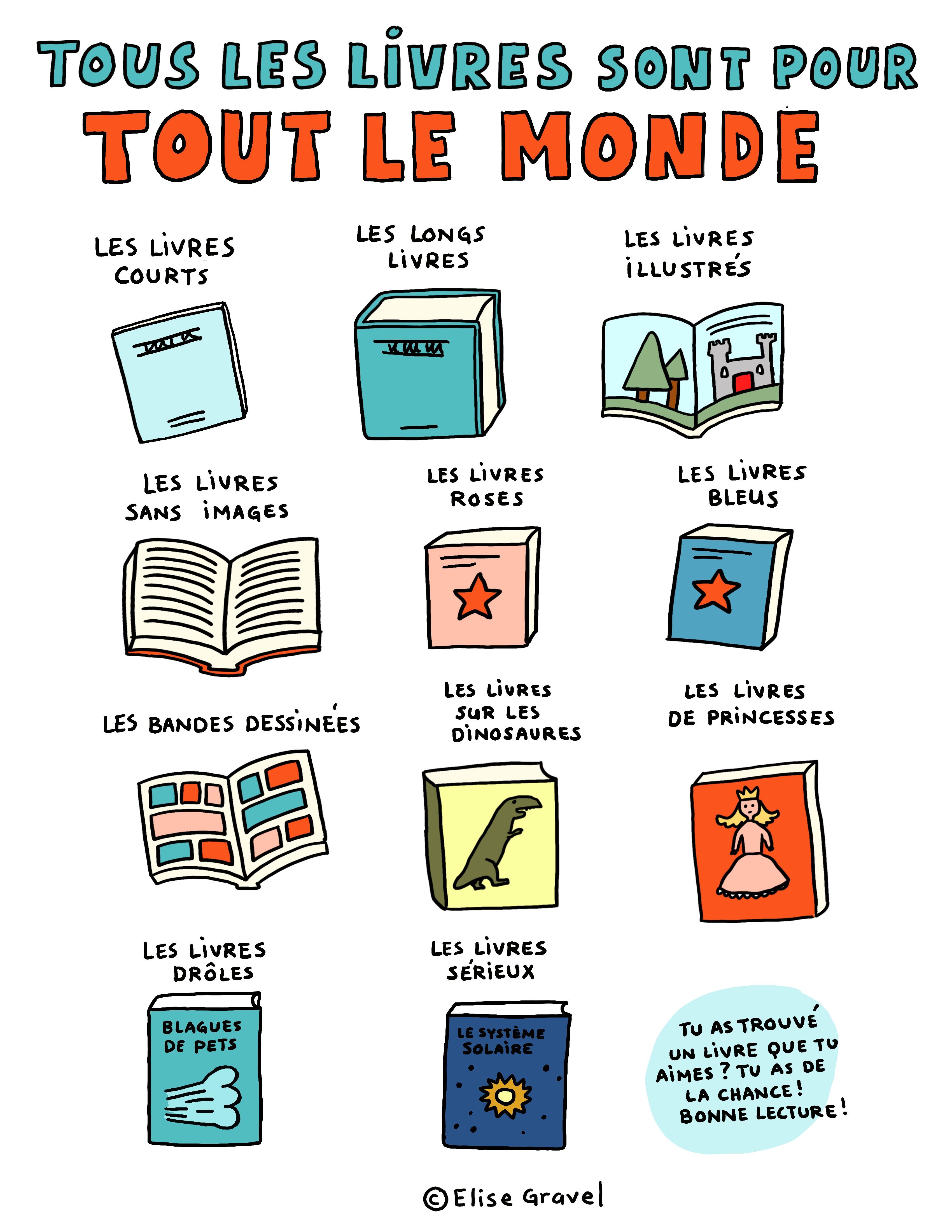 Tous les livres sont pour tout le monde