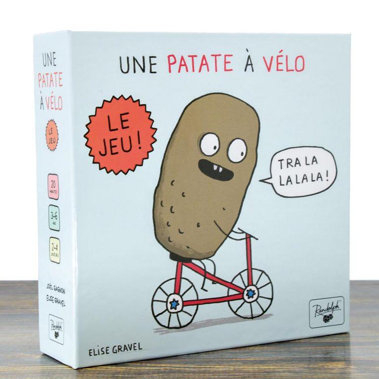 Patate à vélo - Le jeu