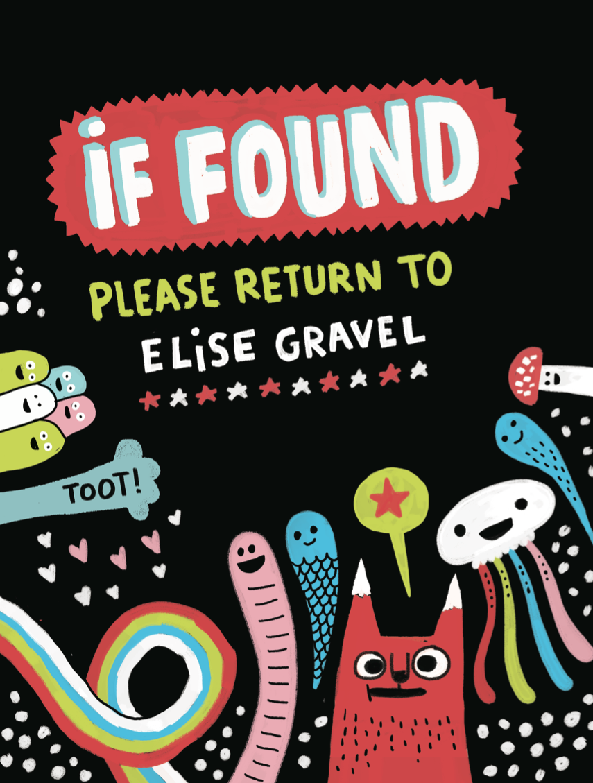 If found , please return to Elise Gravel